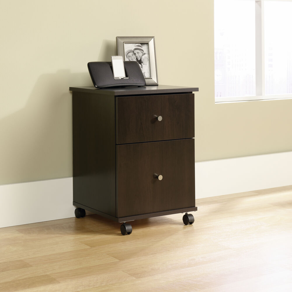 Transitional file cart in cinnamon cherry mathis brothers furniture