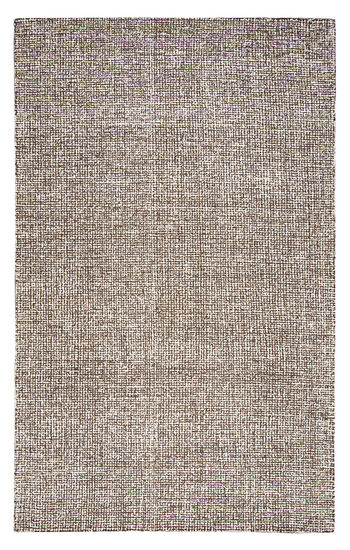 "Casual/Transitional Hand-Tufted 2'6""  x  8' Runner Rug in Brown"