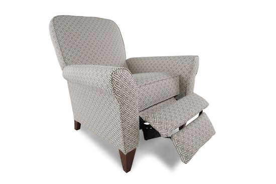 """Contemporary 35"""" Wall Saver Recliner in Gray"""