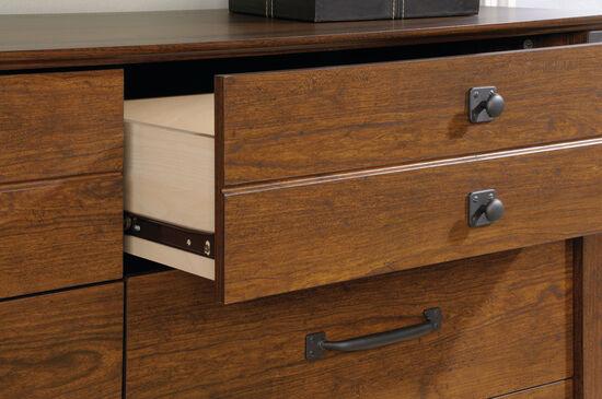 "34"" Traditional Six-Drawer Dresser in Washington Cherry"