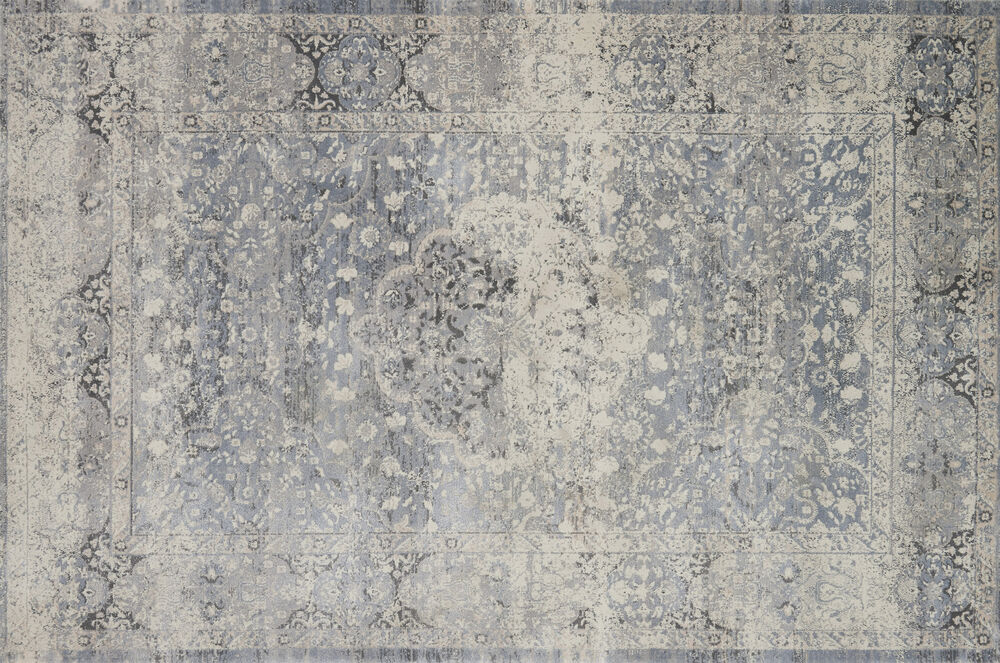 Magnolia Home Everly Power Loomed Rug In Mist Mathis