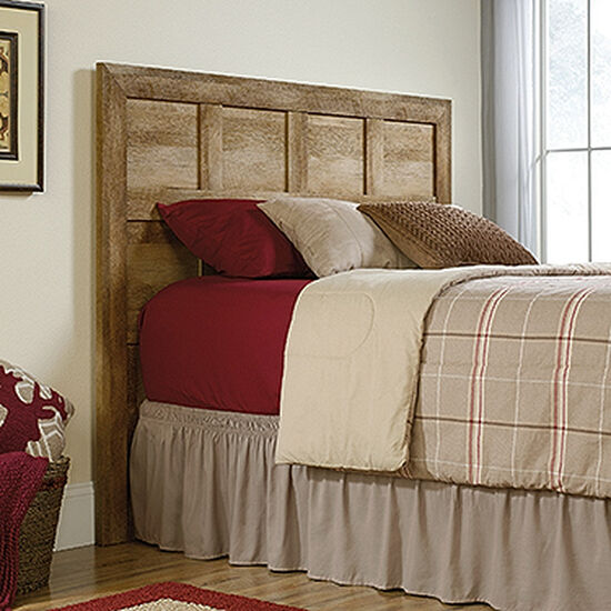 "Contemporary 56"" Full/Queen Headboard in Craftsman Oak"