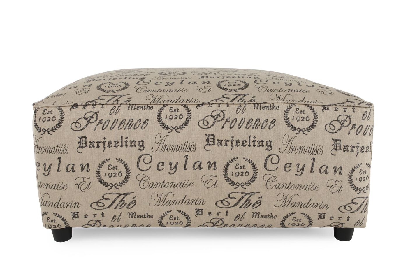Ottomans mathis brothers furniture stores scripted casual 40quot accent ottoman geotapseo Choice Image