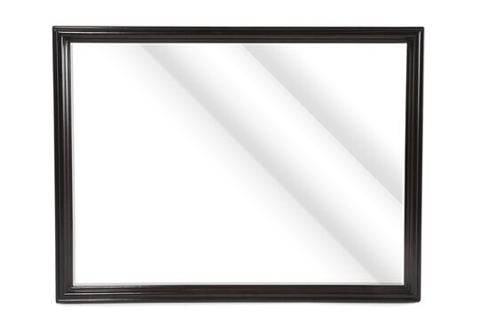 """36"""" Metropolitan Beveled Accent Mirror in Dark Mink"""