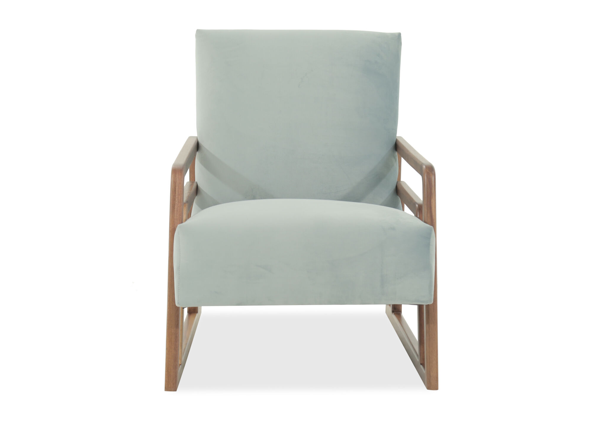 Mid Century Modern Accent Chair In Green Mathis Brothers Furniture