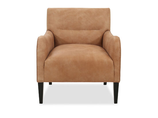 "Transitional 28.5"" Chair in Brown"