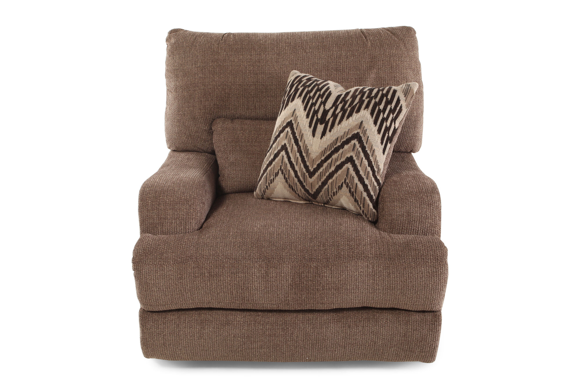 Traditional 48 Quot Power Recliner In Brown Mathis Brothers