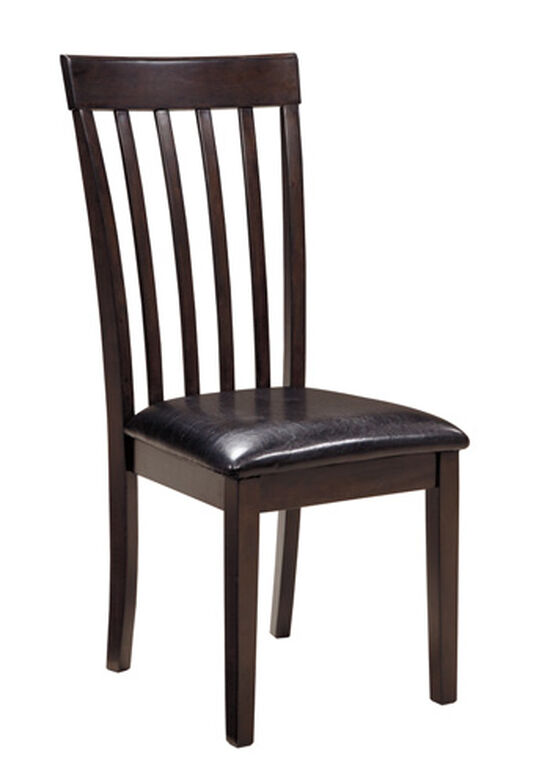 Rake Back 40'' Side Chair in Dark Brown