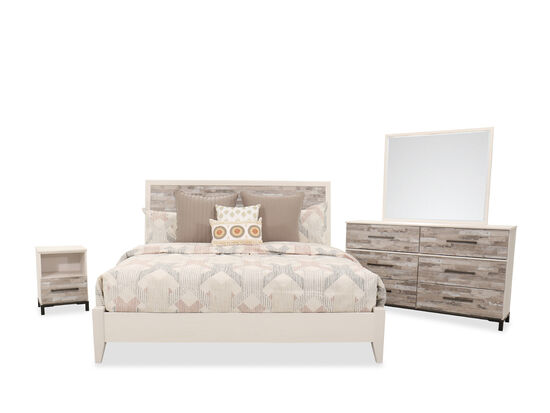 Four-Piece Contemporary Queen Bedroom Set