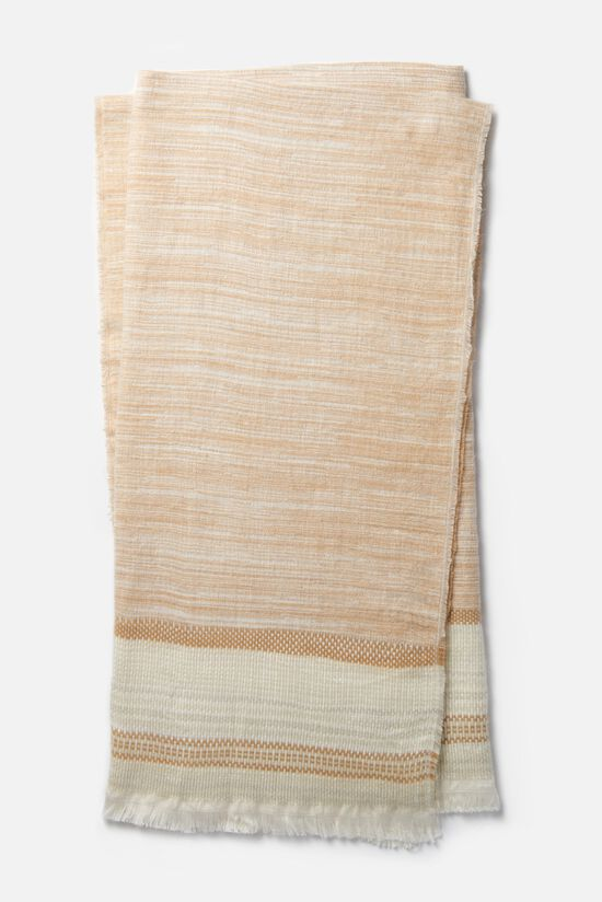 """4'-2""""x5' Throw in Camel/Ivory"""