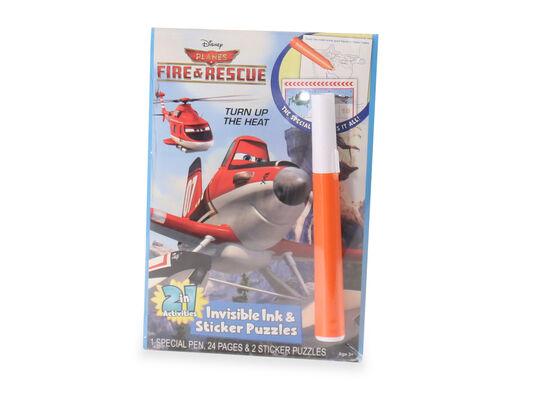 Planes Magic Pen Book