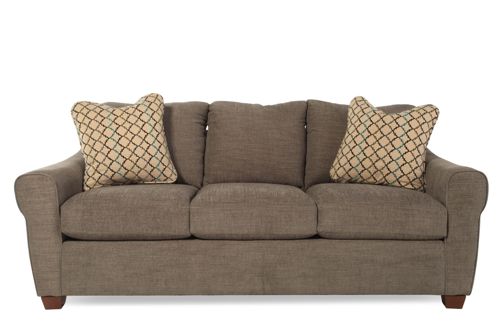 lazboy keller steel sofa