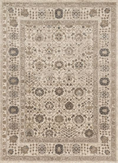 """Transitional 2'-8""""x7'-6"""" Rug in Sand/Sand"""