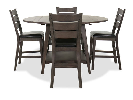 Five-Piece Casual Dining Set in Espresso