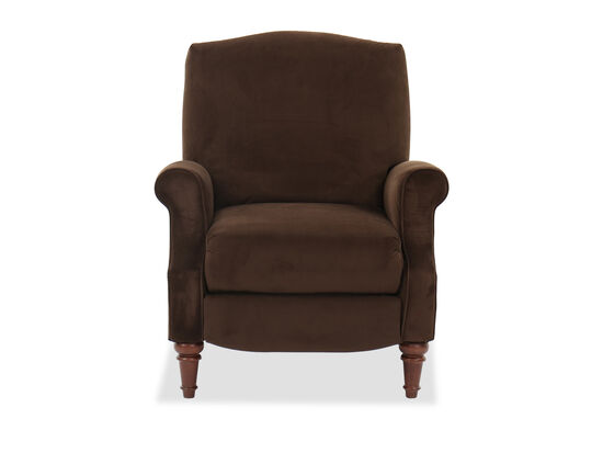 Traditional Power Recliner in Brown