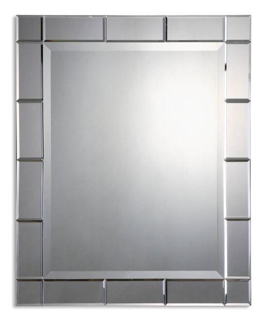 """33"""" Beveled Mirror-Frame Mirror"""