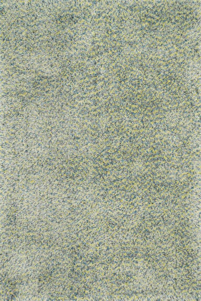 Contemporary Rug in Teal/Multi