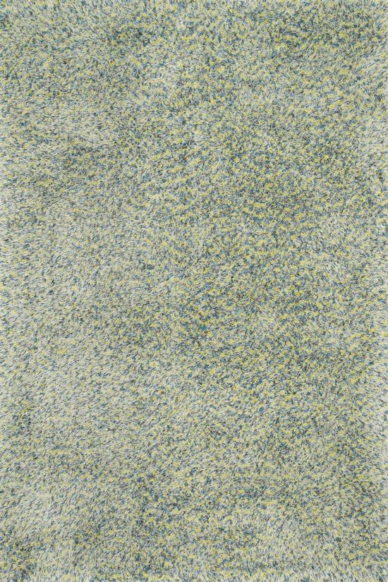 """Contemporary 2'-3""""x3'-9"""" Rug in Teal/Multi"""