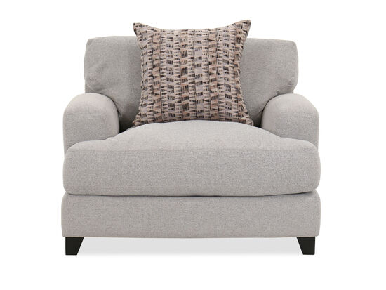 Casual Arm Chair in Gray