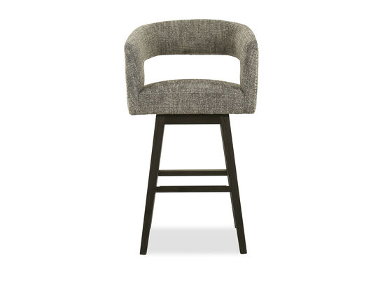 Cutout Back Counterstool in Grey