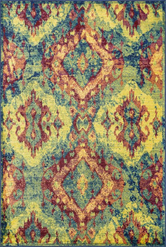 """Contemporary 2'-0""""x3'-0"""" Rug in Tropical"""