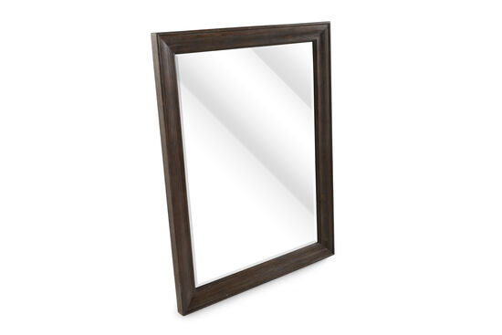 """37"""" Casual Beveled Accent Mirror in Foxtail"""