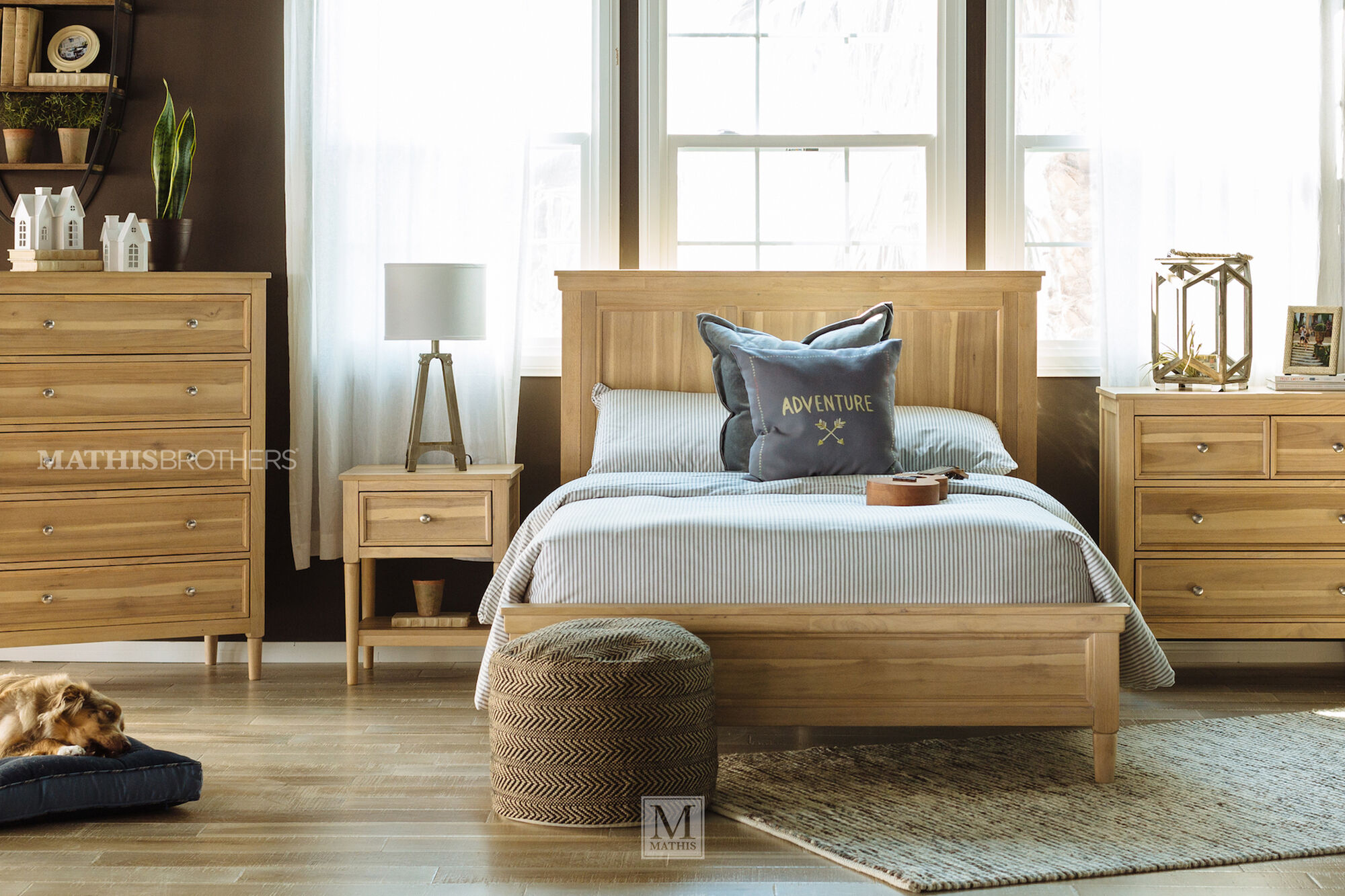 light ash bedroom furniture contemporary youth panel bed in light brown mathis 15802