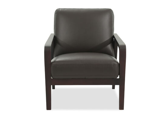 "Casual 27"" Accent Chair in Brown"