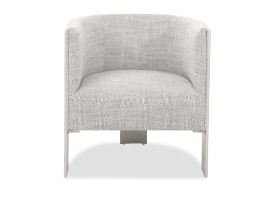 """Contemporary 28"""" Chair in Gray"""