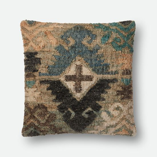 "22""x22"" Pillow Cover Only in Multi"