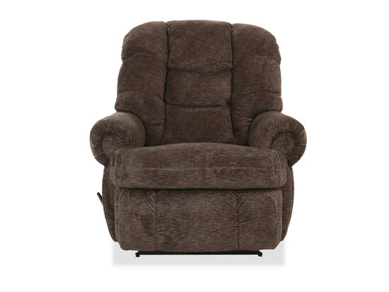 "Contemporary 44"" Wall Saver Recliner in Cafe"