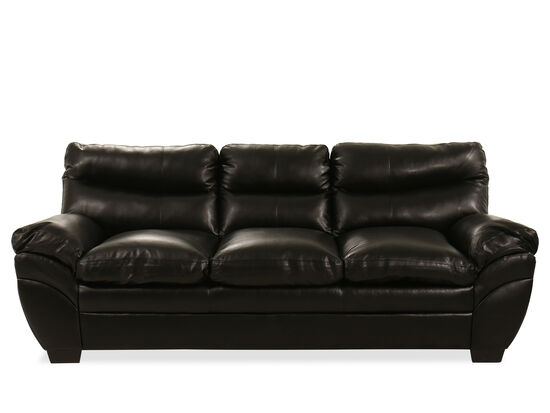 "92"" Sofa in Black"