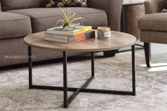 Three-Piece Contemporary Occasional Table Set in Gray