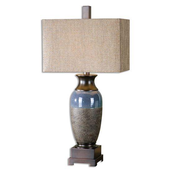 Textured Vase Table Lamp