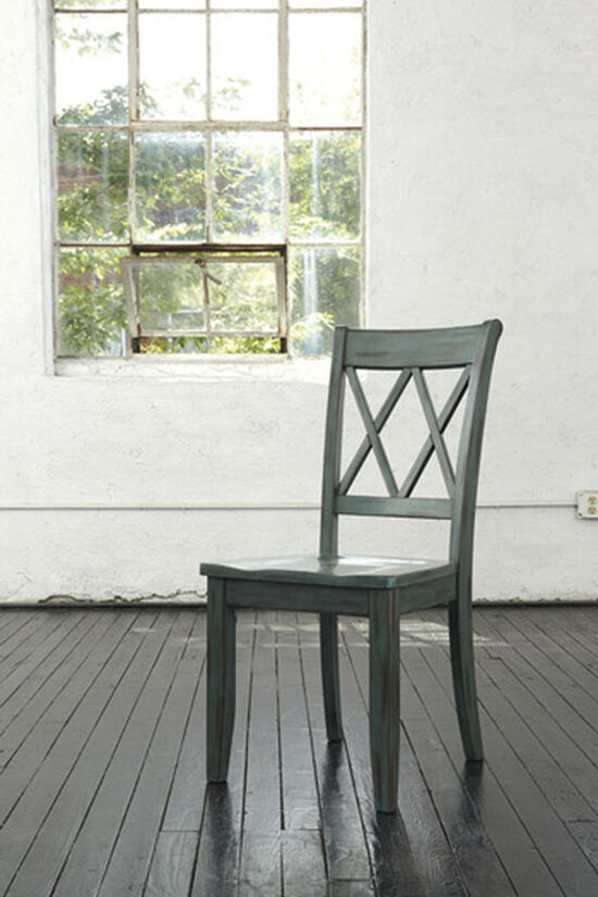 "Casual 18.5"" Side Dining Chair in Light Green"
