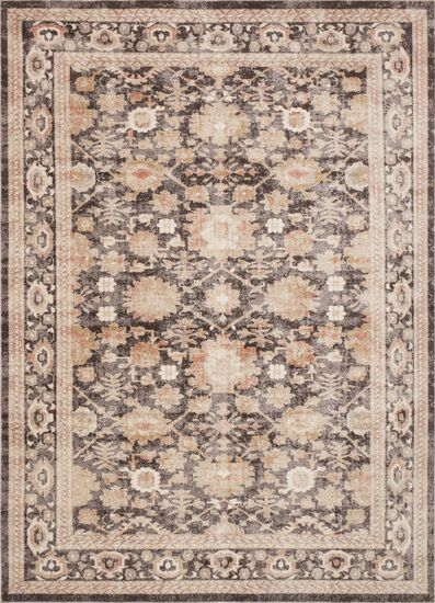 Traditional 13'x18' Rug in Mocha