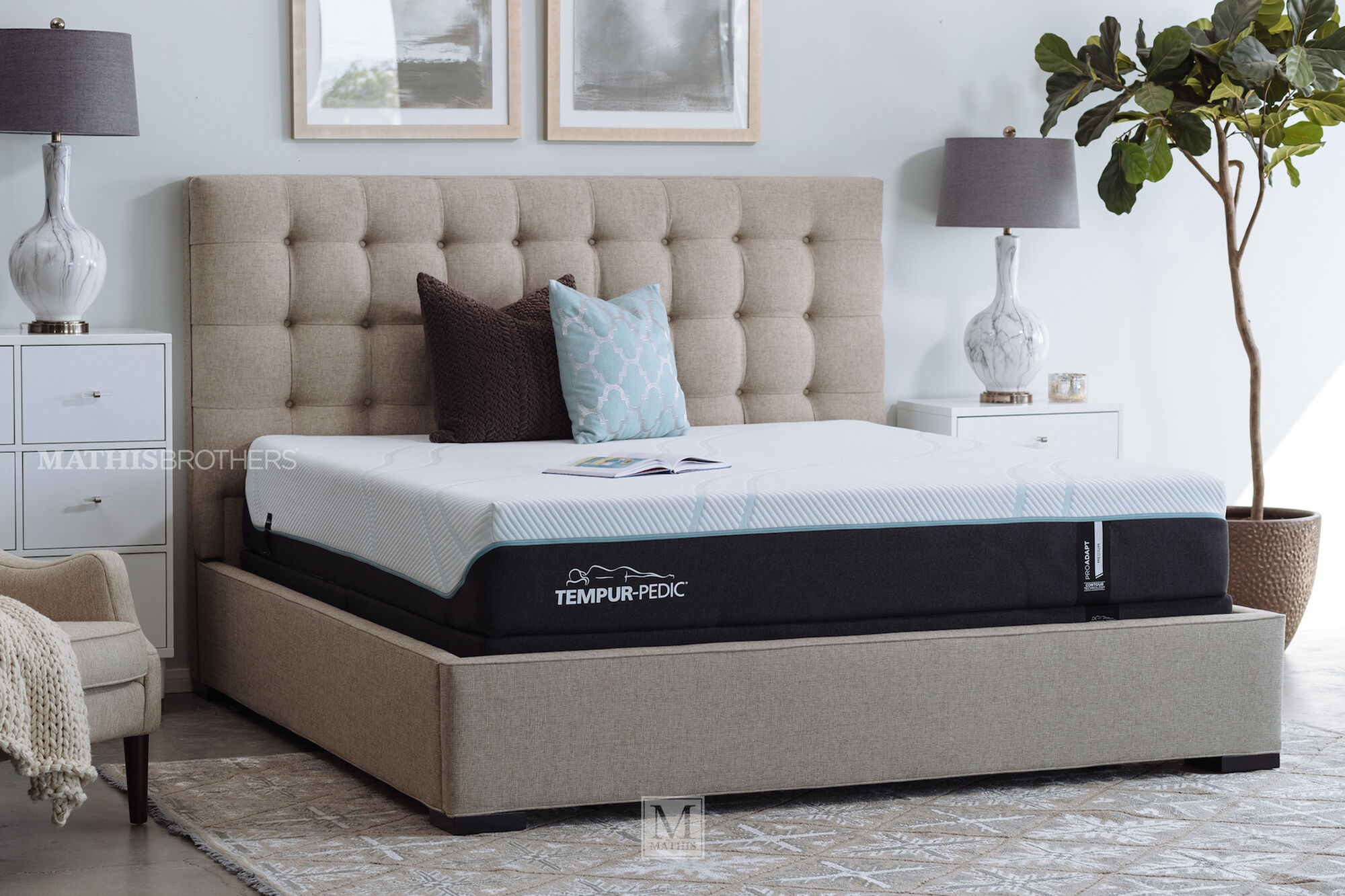 """Wayfair Tufted Headboard Bedding Bedroom Transitional With: 57"""" Transitional Button Tufted Platform Bed In Beige"""
