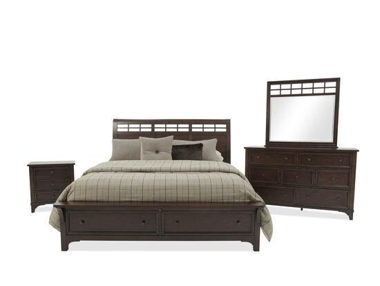 Winners Only Retreat Mango Queen Brown Bedroom Suite