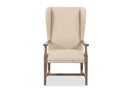 """27"""" Traditional Side Chair in Beige"""