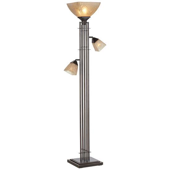 City Lines Torchiere Floor Lamp