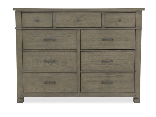 "44"" Country Nine-Drawer Chesser in Stone"