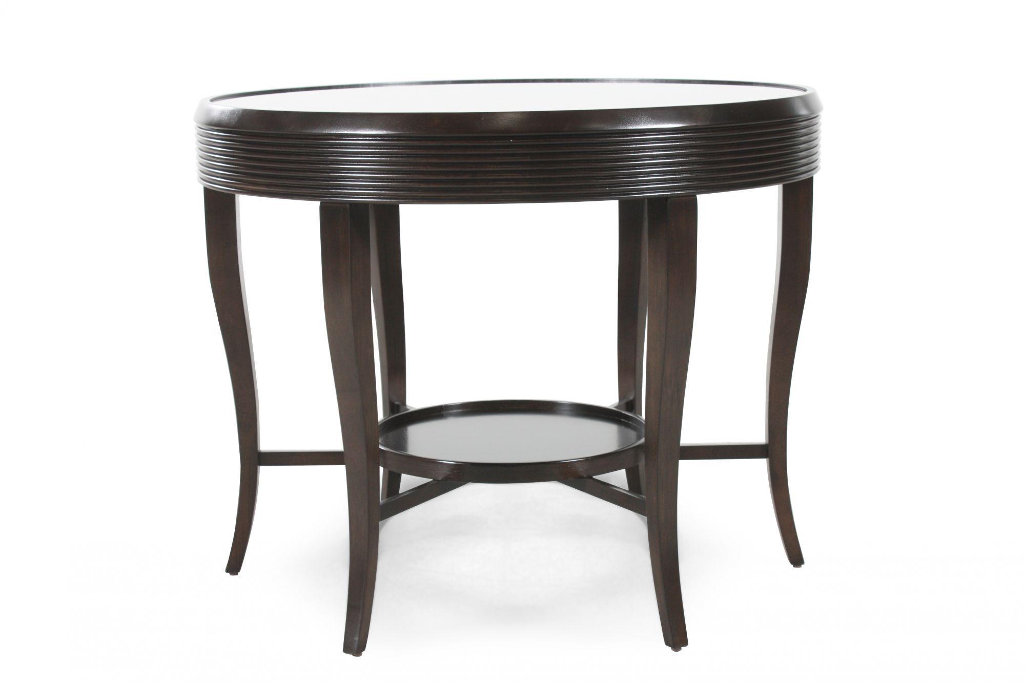 Images Round Contemporary Center Tableu0026nbsp;in Dark Walnut Round Contemporary  Center Tableu0026nbsp;in Dark Walnut