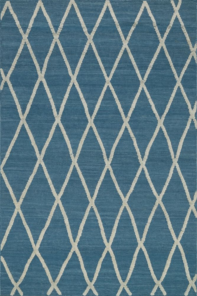 Transitional Rug in Azure