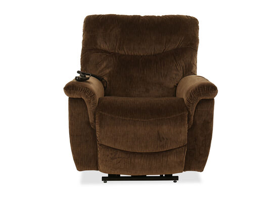 """Casual 40"""" Power Lift Recliner in Peat"""