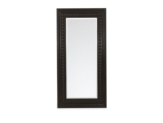Casual Rectangular Mirror in Espresso