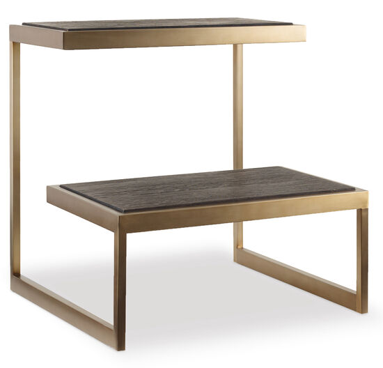 Curata End Table in Dark Wood