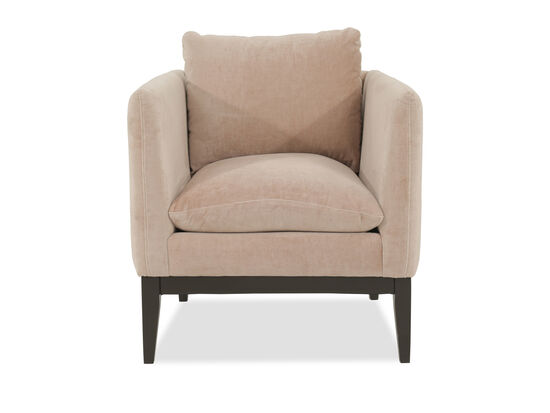 "Low-Profile Contemporary 32"" Chair in Beige"