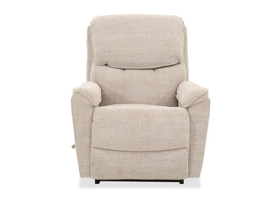 "35"" Contemporary Rocking Recliner in Cream"