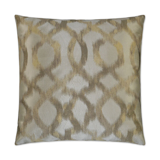 Faux Fresco II Pillow in Taupe