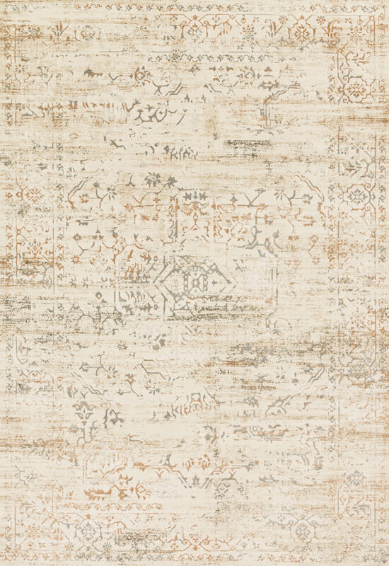Loloi Power Loomed 7'10''x10'10' Rug in Cream/Multi